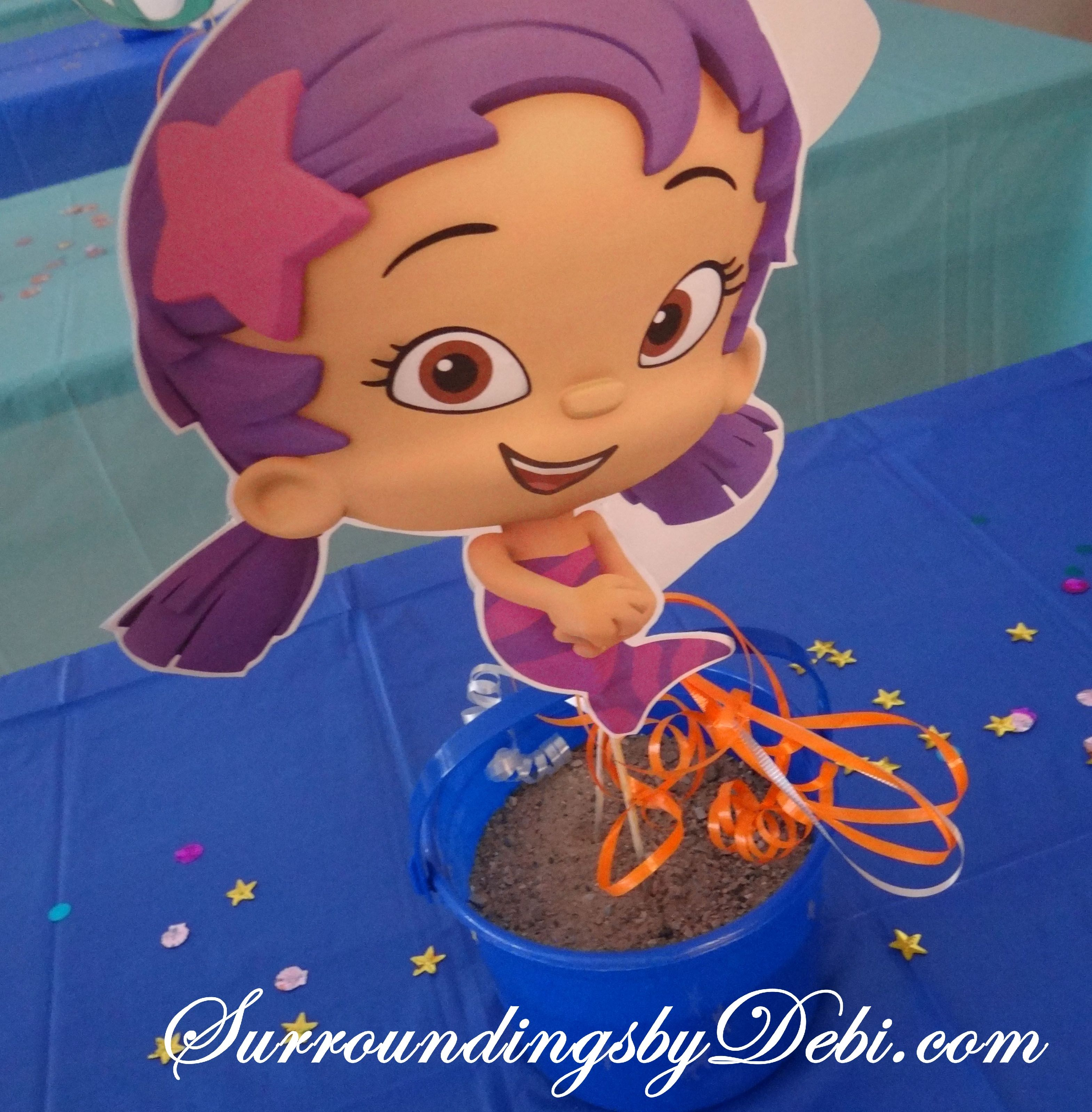 Bubble Guppies / Ariel Birthday Party! Lets Celebrate!