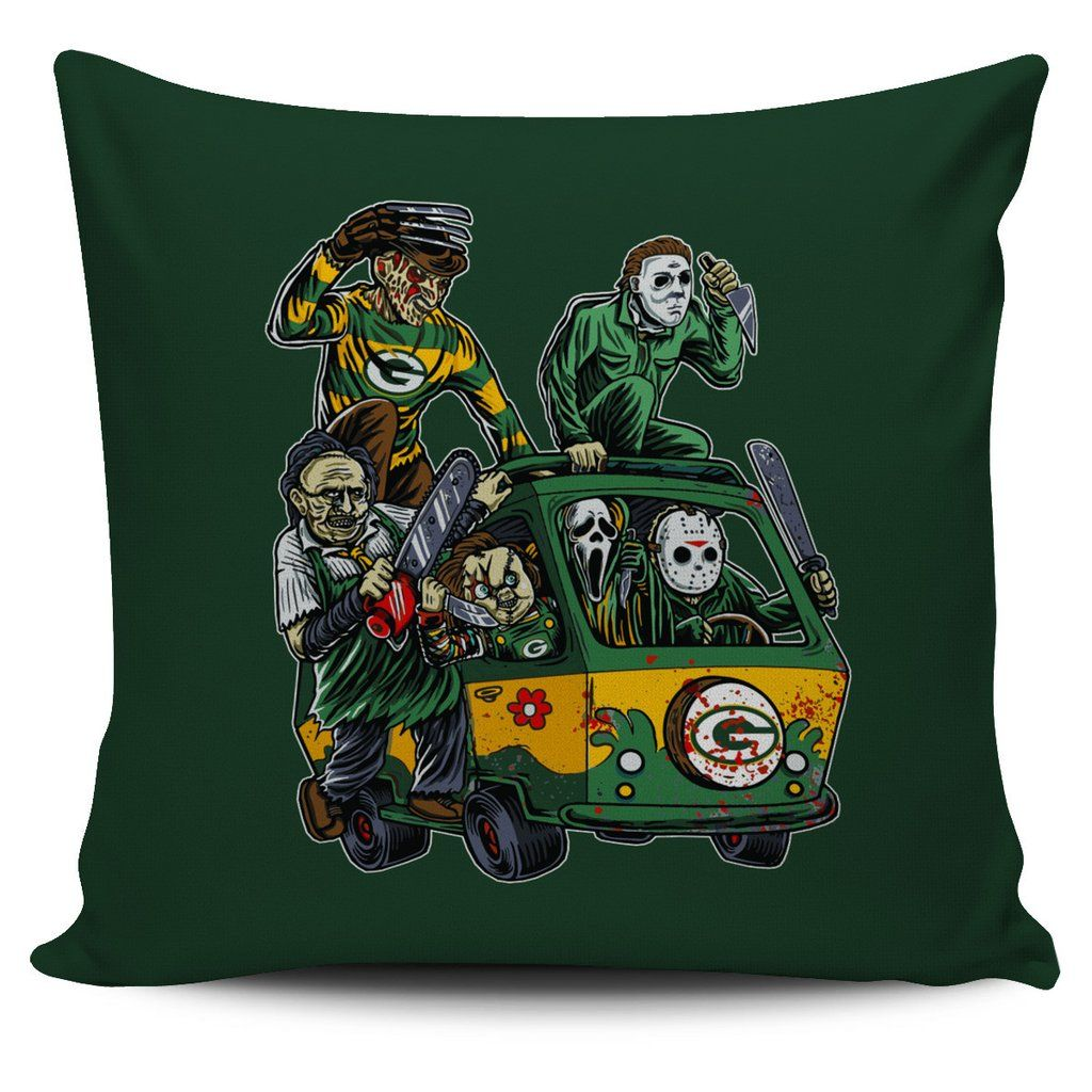 the massacre machine green bay packers pillow covers – best funny