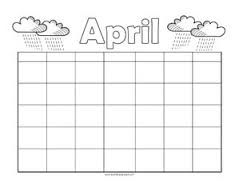 Image result for blank calendar | Reading calendar ...