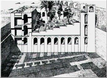 Rekonstruktion Nach Koldewey Civilizacoes Antigas Civilizacao Arquitetura