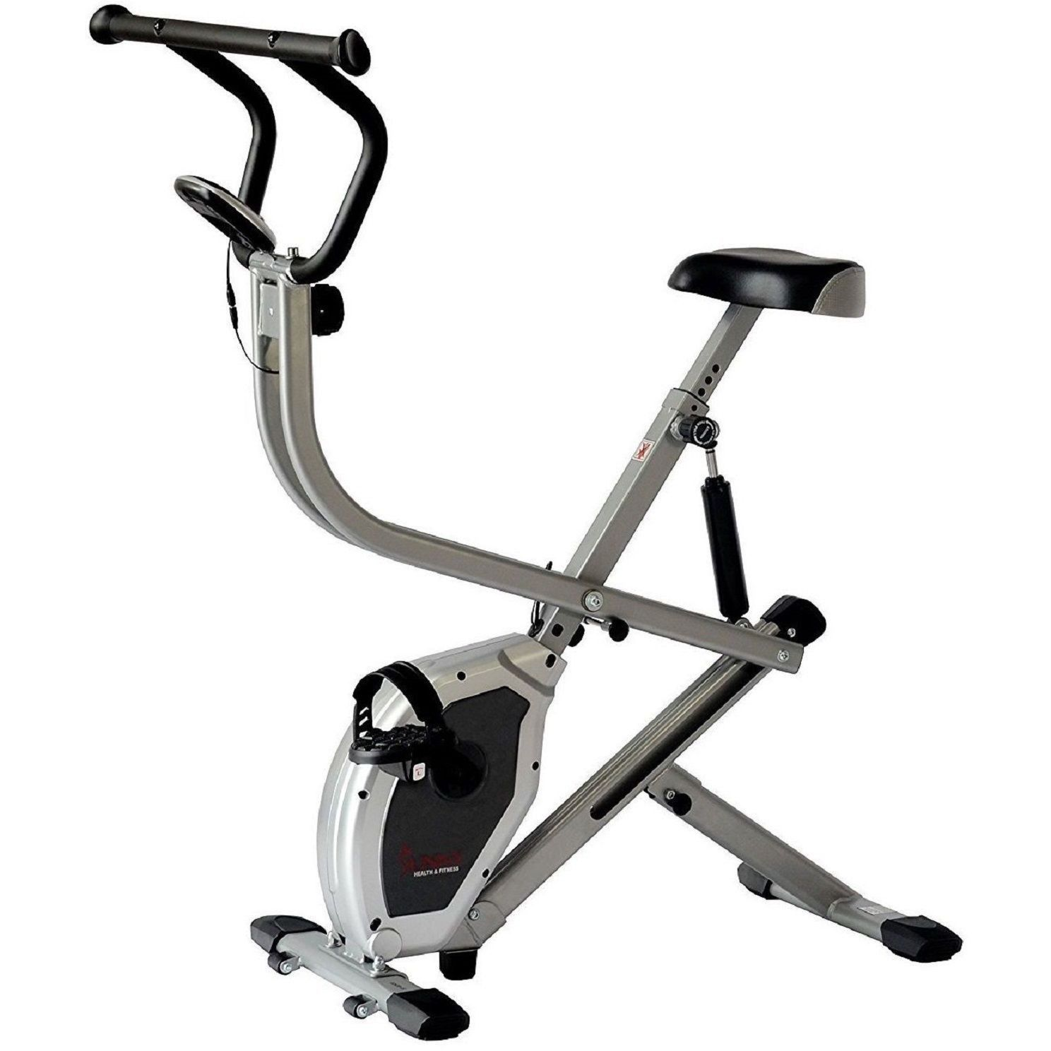 Sunny Dual Action Rider Stationary Cycling Upright Row Full Body Exercise Bike 1 Each Biking Workout Upright Exercise Bike Stationary Bikes
