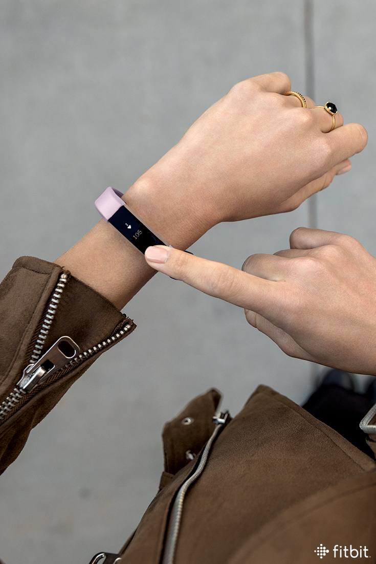 Add a pop of purple to your day with the new lavender leather band