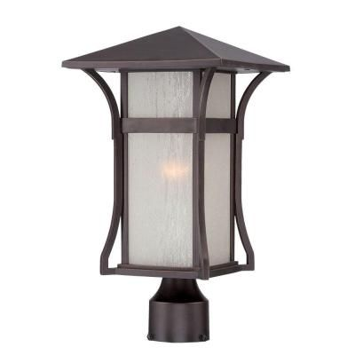 Thomas Lighting SL90067 Mission Outdoor Post Lantern Black