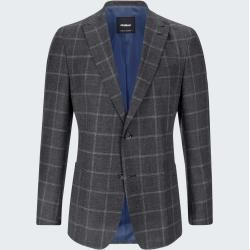Photo of Abat modular jacket, charcoal checkered Strellson