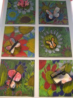 Kuvis ja askartelu - www opeope fi   Art projects   Spring art