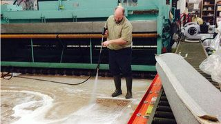 Local rug cleaners cash in on melting snow