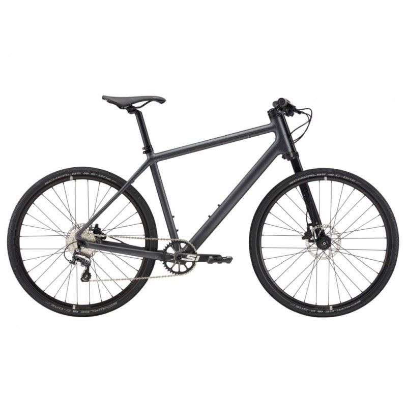 For Smooth And Slick Riding Around Town The Cannondale Bad Boy 2 Hybrid Bike 2019 Is Designed For Tackling Urban Environments With An 11 Speed Transmission Wi