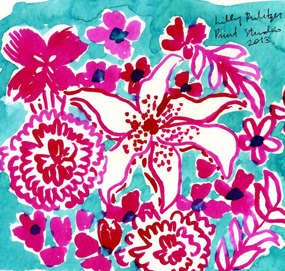 To us, Summer is STILL in bloom. Lilly pulitzer iphone
