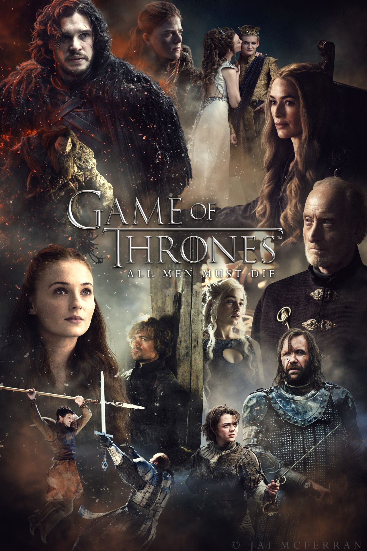 Game of Thrones Season 4 character poster.   Game of ...