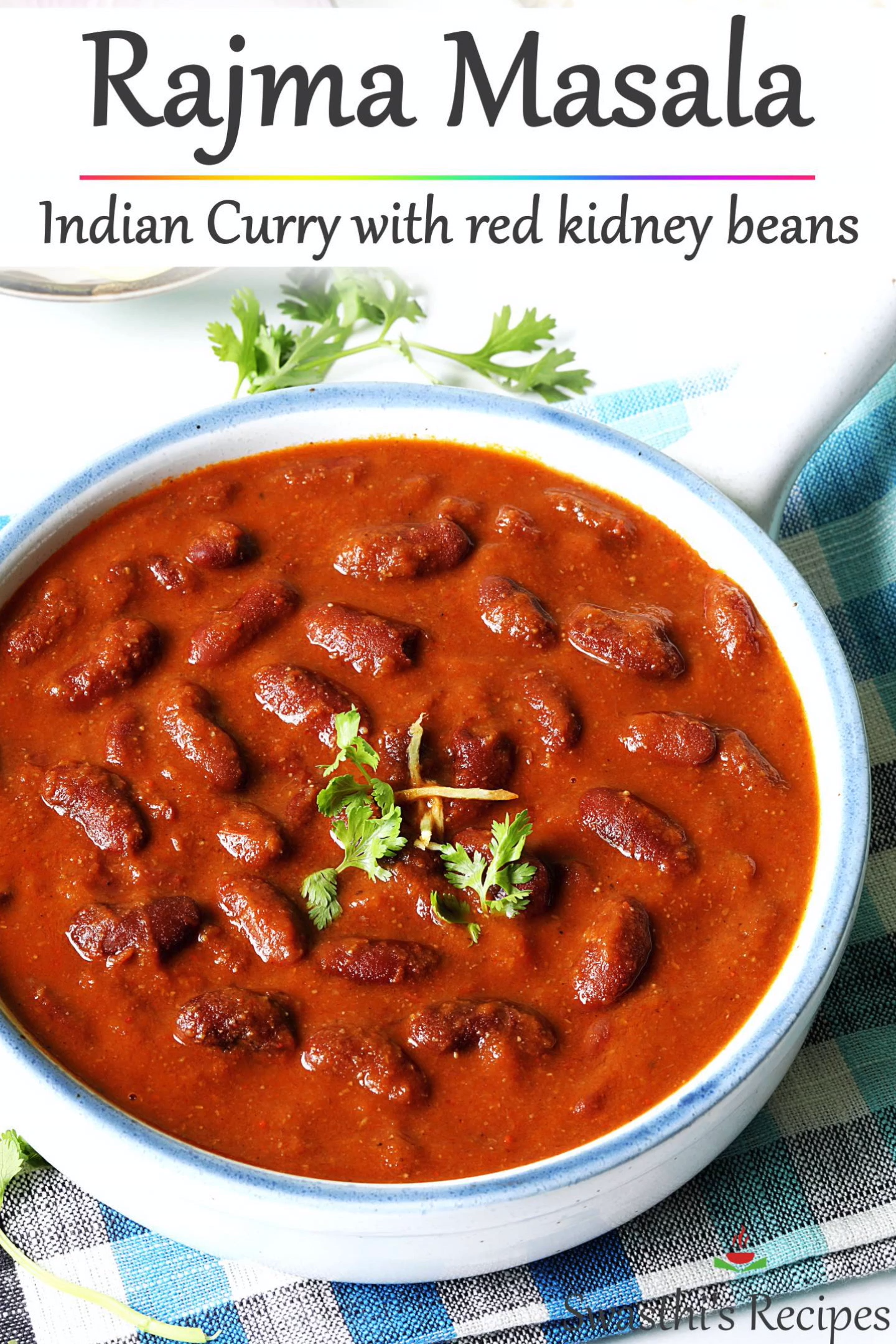 Rajma Recipe (red kidney beans curry)