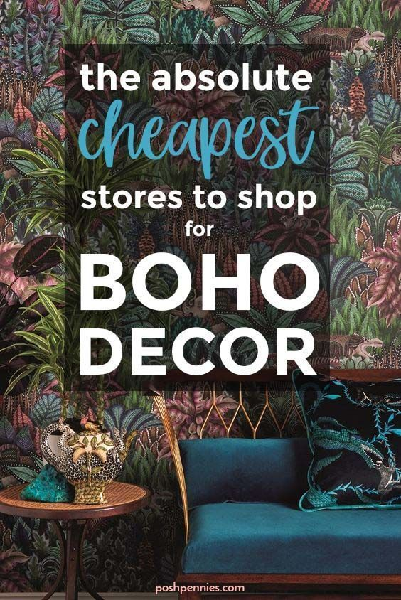 These are the absolute best places to shop for all your boho decor needs - get t...