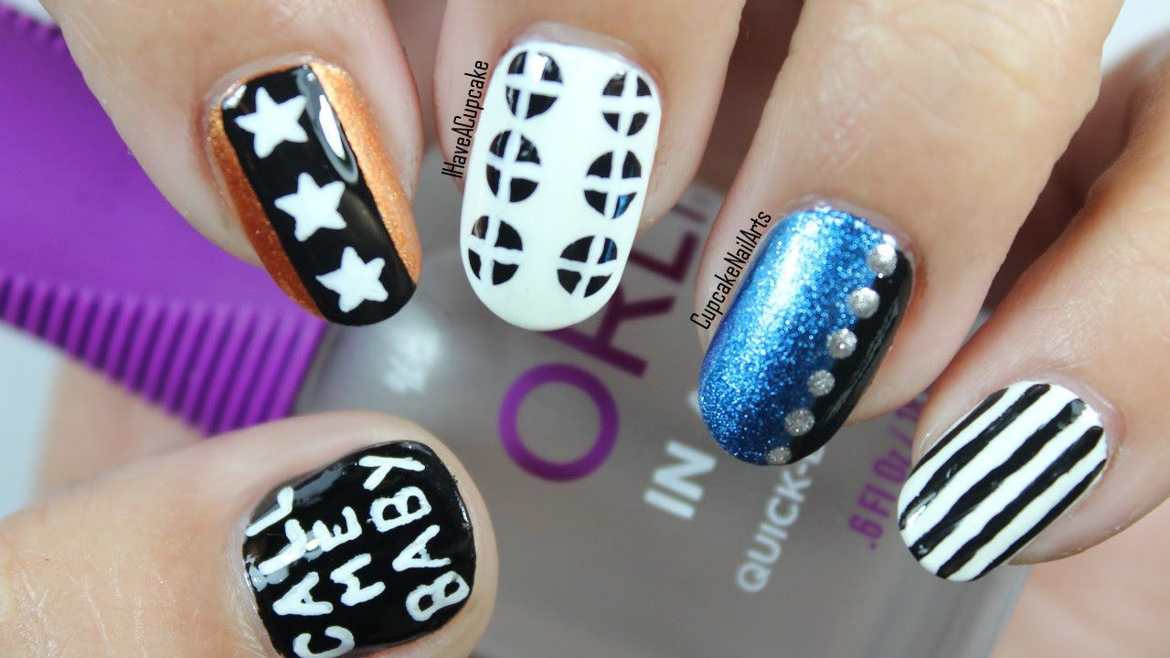 Kpop Nail Art - EXO Call Me Baby Inspired Nails | Nail Designs ...