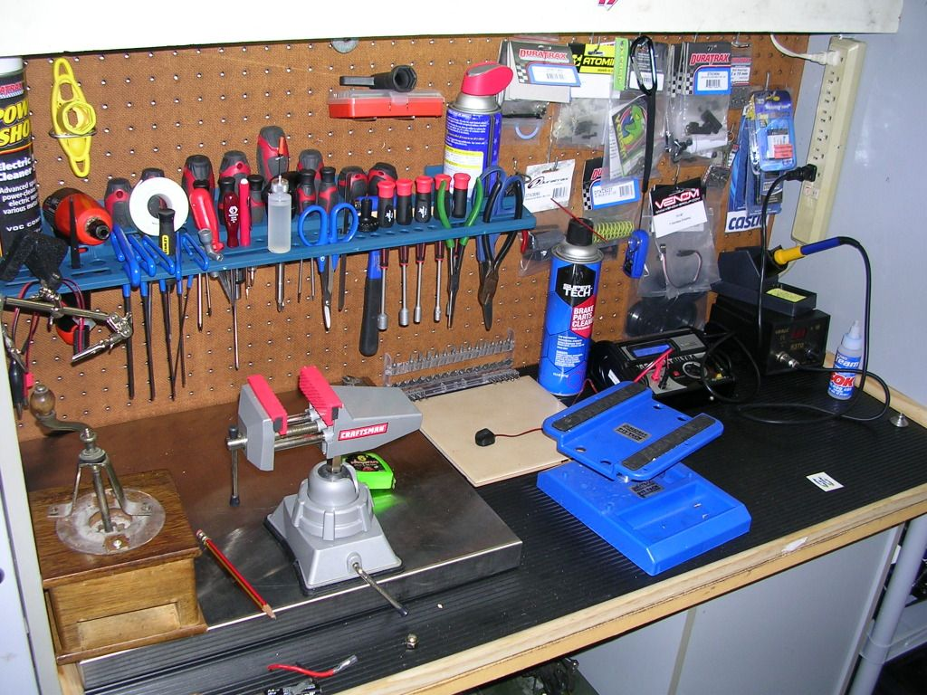 What does your hobby man-cave look like? RC workshop