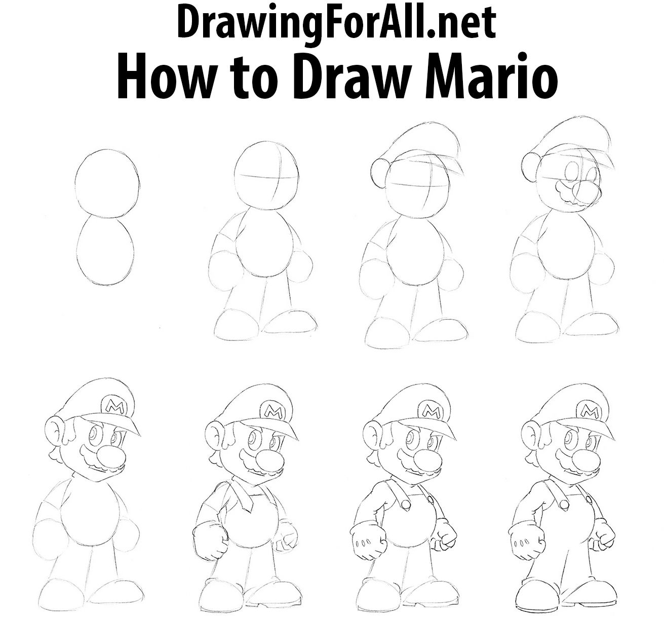 Pin By Johanna Kleideiter On Dessin How To Draw Mario Easy Disney Drawings Drawings