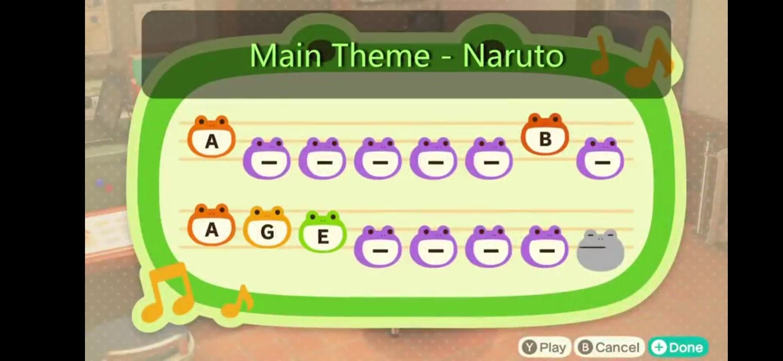 Acnh Island Tune Naruto Animal Crossing Town Tune Animal Crossing Music Animal Crossing
