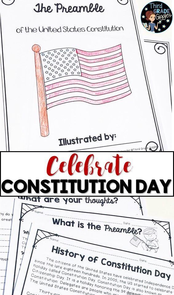 Help Your Students Understand The Preamble And The United States Constitution Constitution Day Informational Reading Passages Reading Comprehension Worksheets Preamble to constitution worksheets