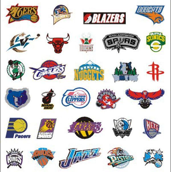 Nba Teams Logos Team Logo Basketball Teams Nba Basketball Teams