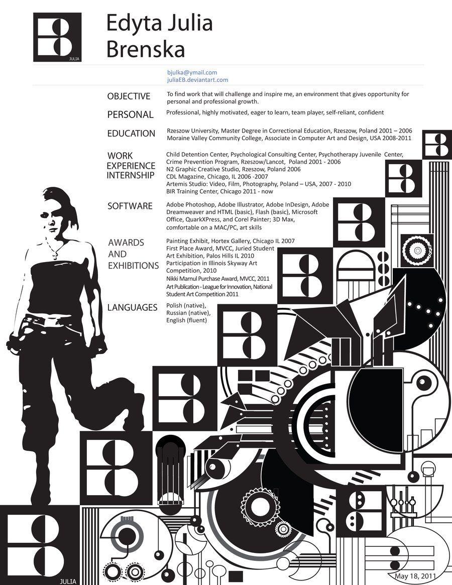 design resume cv by juliaeb designer resumes professional free template official format doc salesman sample
