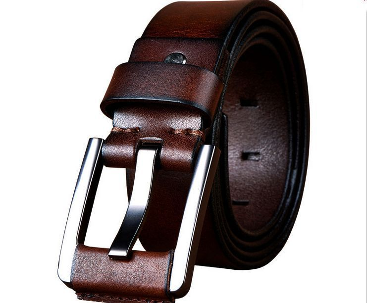 "Men/'s belt 34/"" Men/'s belt Dress//Casual Leather Belt Click Comfort Crocodile belt"
