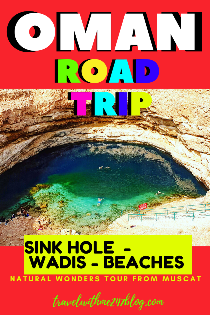 Muscat To Bimmah Sinkhole Tour Things To Do Near Muscat Travel
