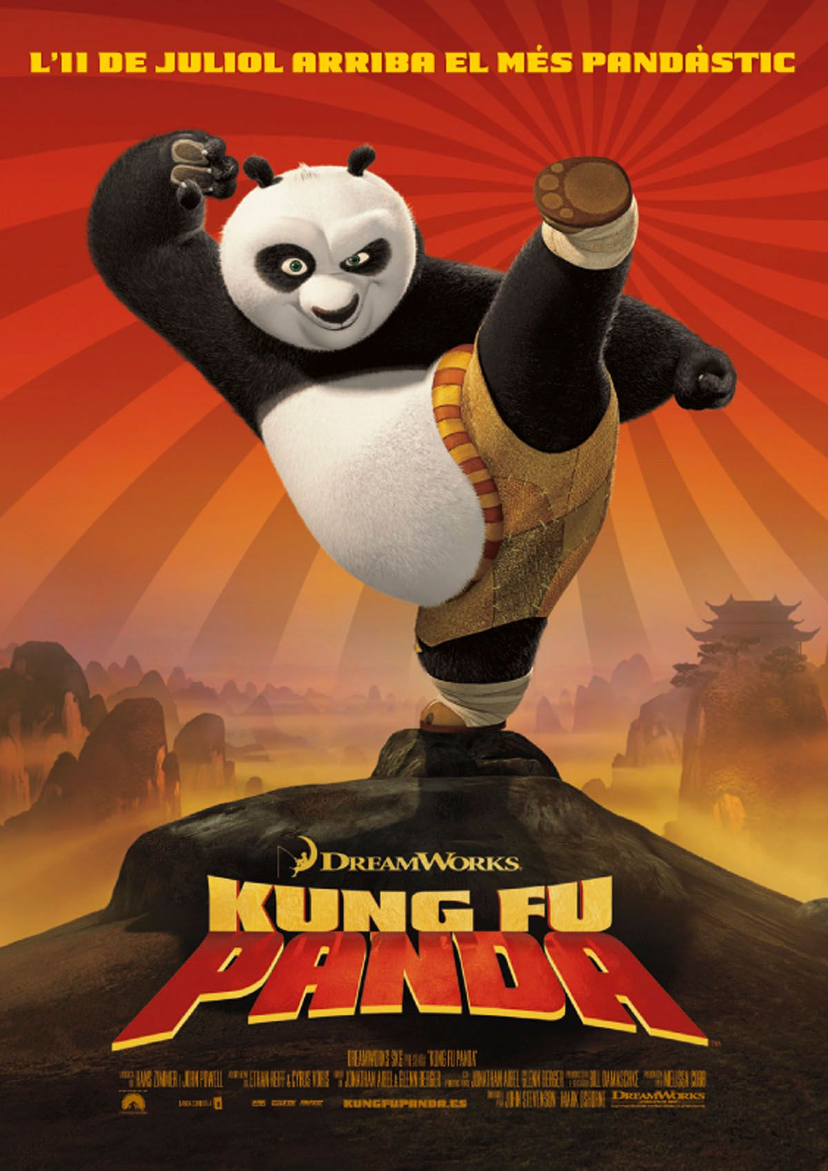 Kung fu panda new linelook amazon cartoni animati film e tv