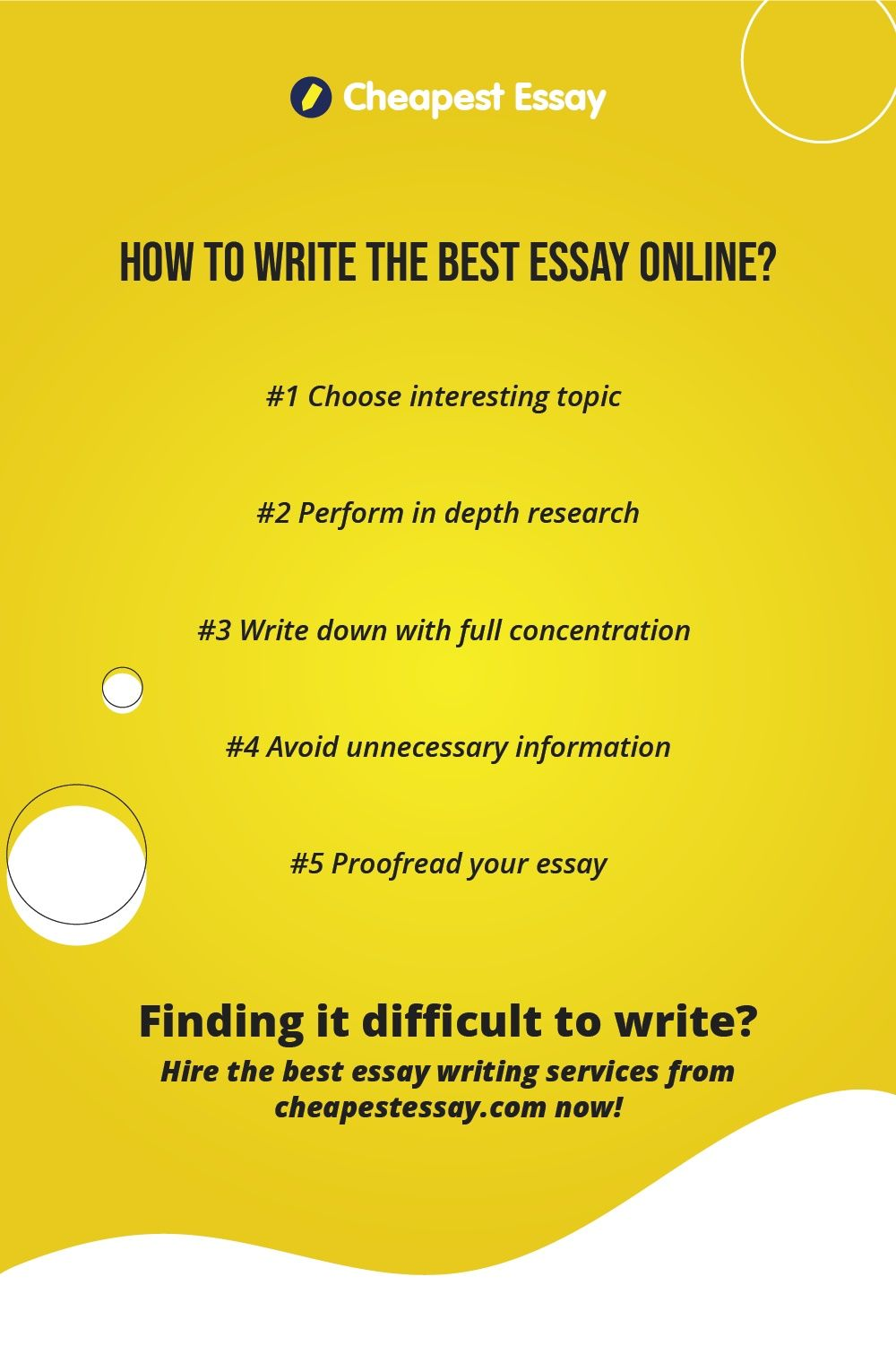 How To Write The Best Essay Online Good Writing Service Writer