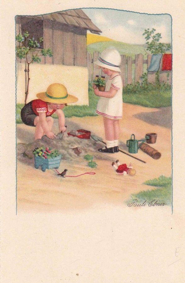 Pauli Ebner (1873-1949) — Old Post Cards (588x900)