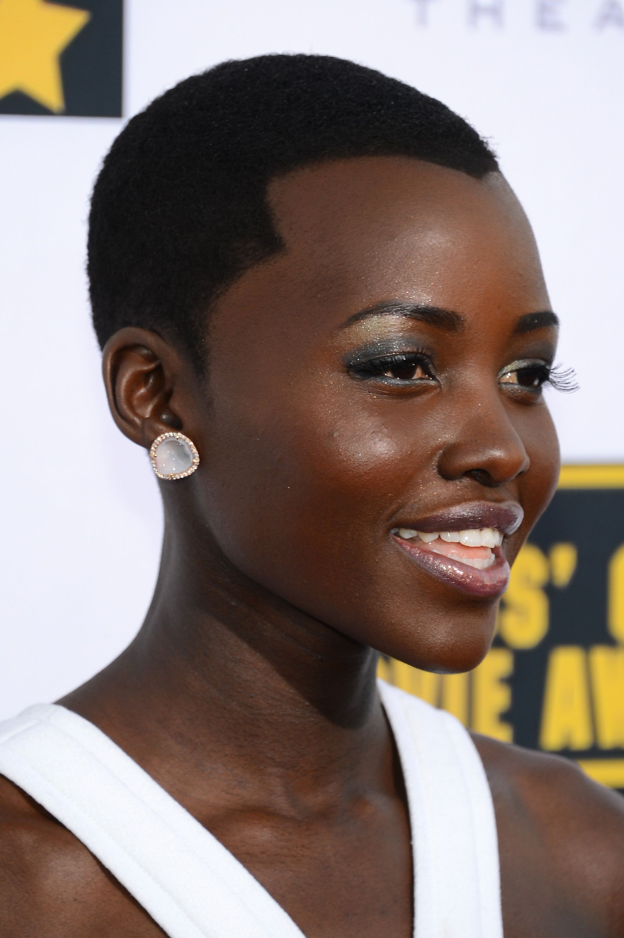 Lupita Nyong'o Short natural hair styles, Natural hair