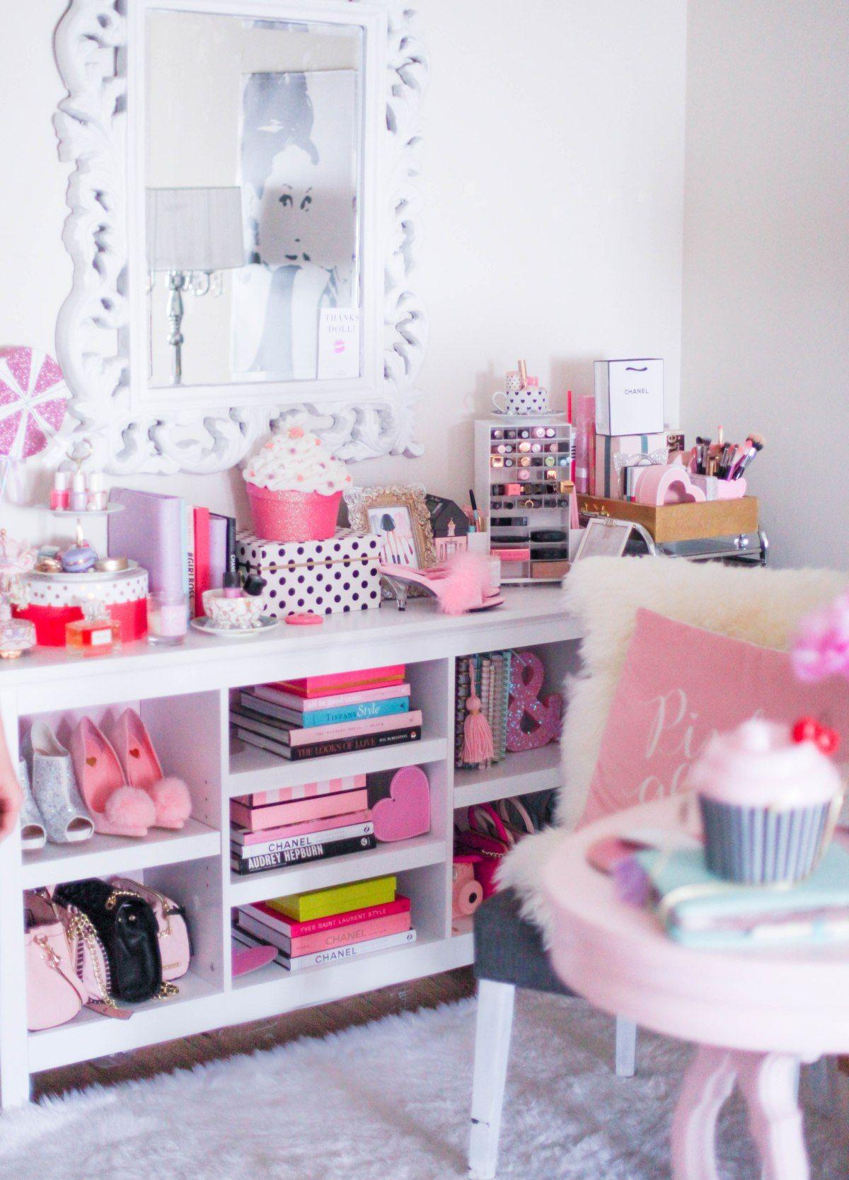 How To Make Your Workspace Pretty & Girly | Pinterest | Schönes ...