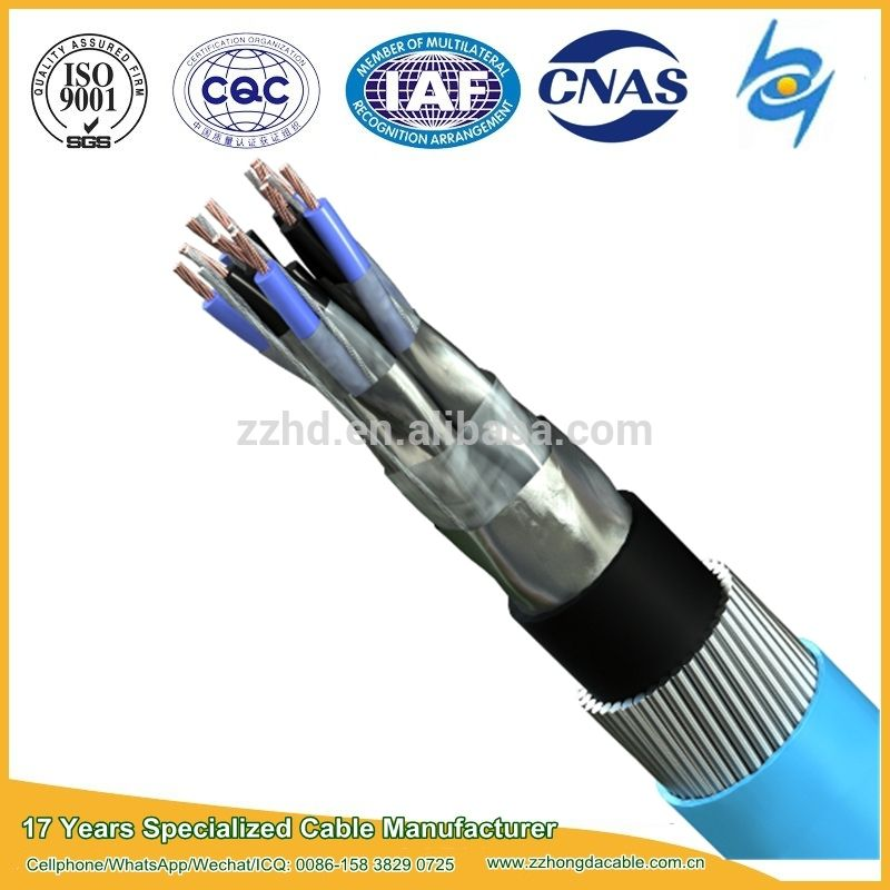Bs5308 Cable Part 1 Type 2 Pe Insulated Armoured Instrumentation Cable Insulated Cable Type