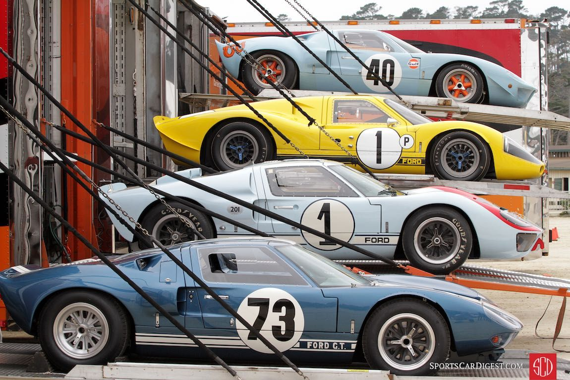 Pebble Beach Concours D Elegance 2016 Photos Results And Winners In 2020 Ford Gt Ford Racing Ford Gt40