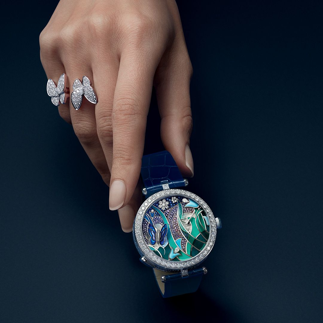 Take time to discover the Lady Arpels Papillon Automate
