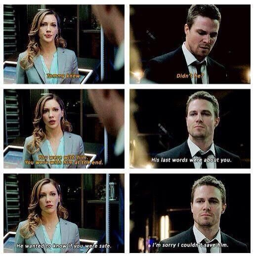 Arrow - Oliver & Laurel #2.21 #Season2
