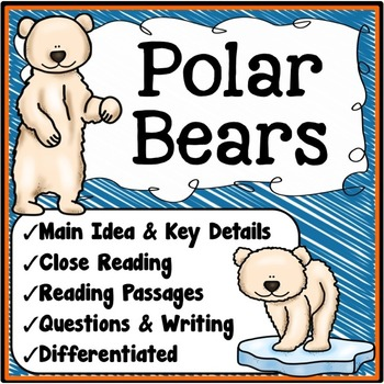 Polar Bears Main Idea And Details Winter Resources