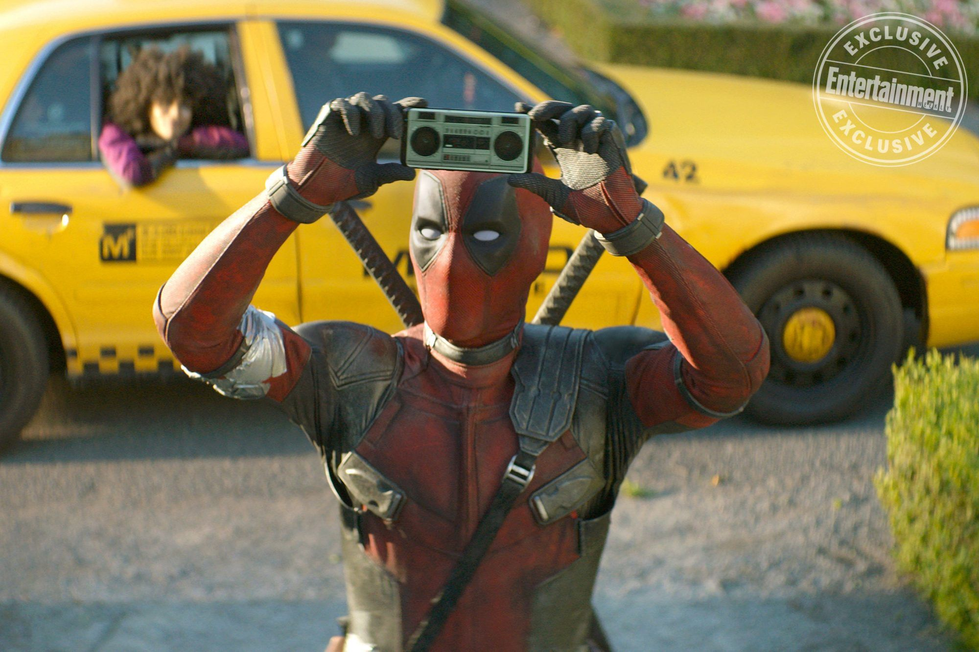 Exclusive Deadpool 2 Pays Homage To Say Anything In New Image Deadpool Comic Book Movies Film Journal