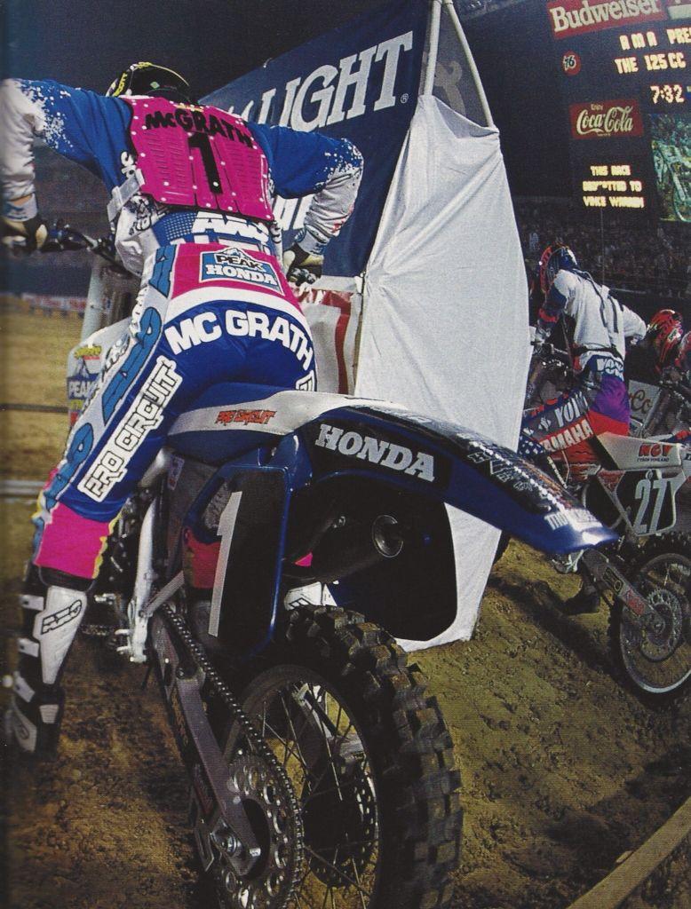 Jeremy Mcgrath Dirt Bike Legends Pinterest Motocross