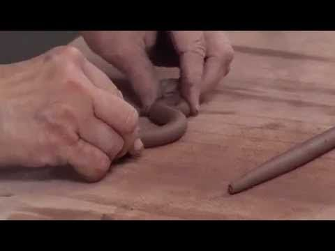 Ceramic Arts Daily – Pottery Video of the Week: How to Make Three Cool Handbuilt Handles with Coils and Slabs