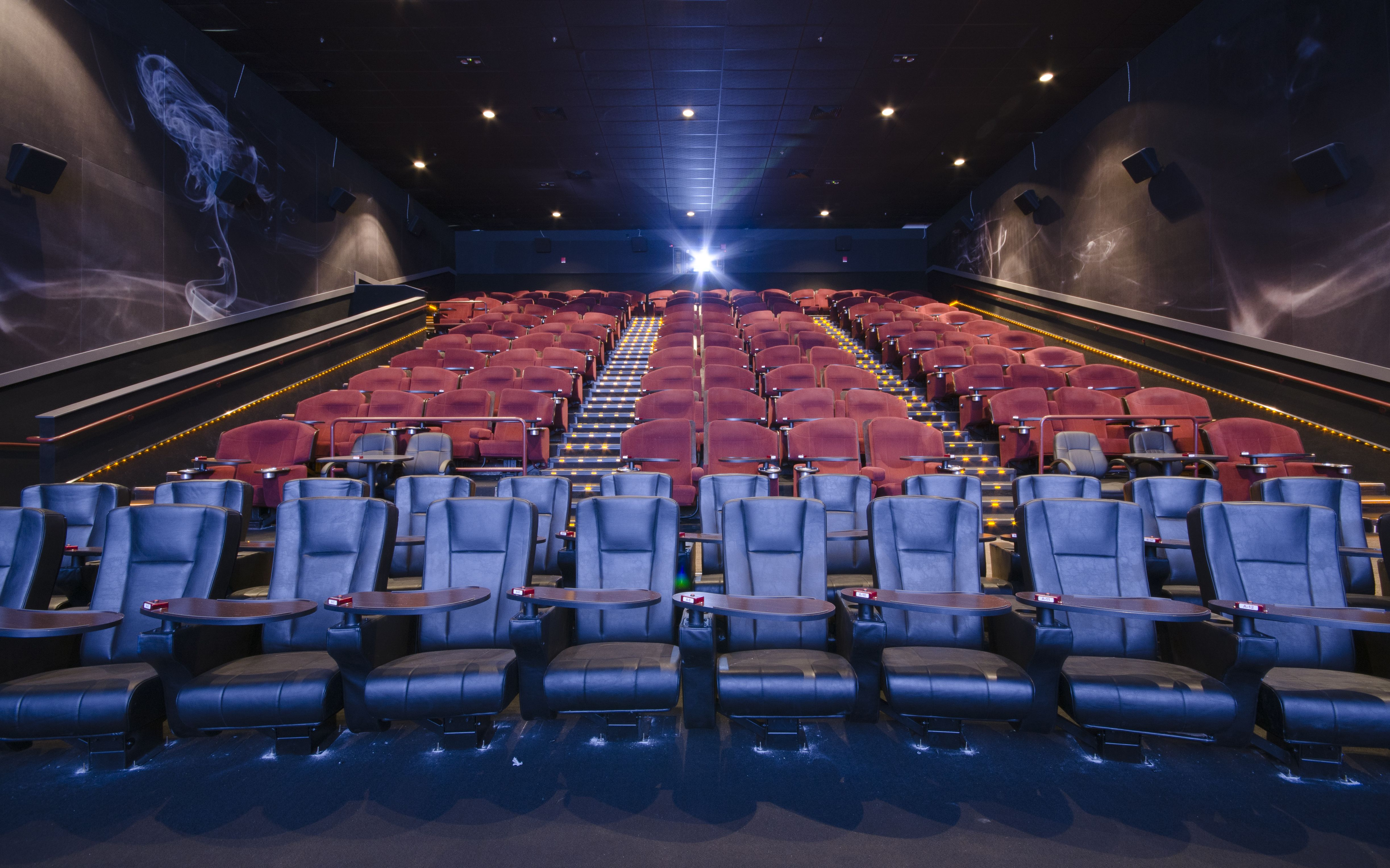 Smg epicentre auditorium with images in and out movie