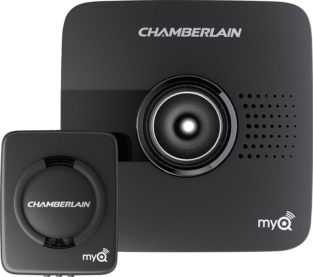 Chamberlain Myq Garage Door Controller Black
