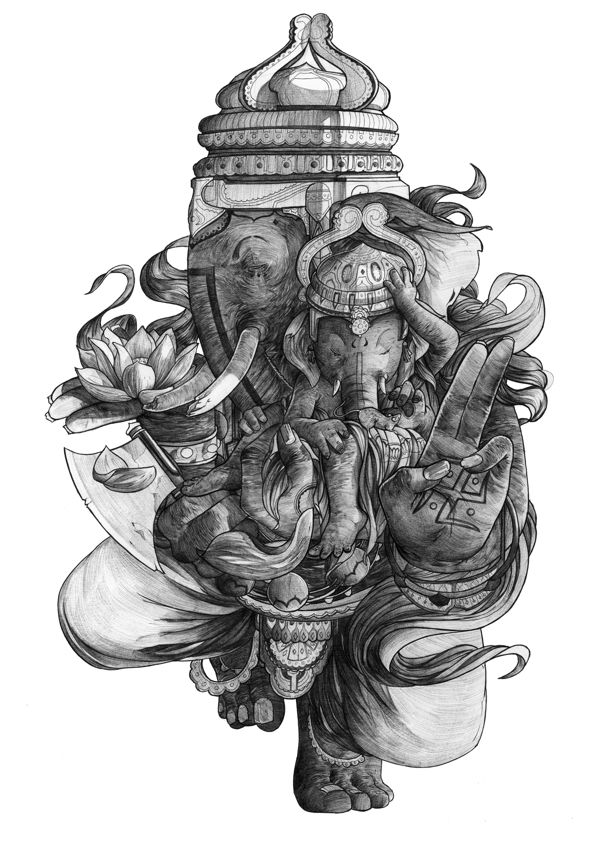 Various - traditional by Thomas Cian, via Behance