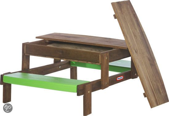 Picknicktafel Kinderen Little Tikes.Little Tikes 2 In 1 Wooden Sand Picnic Table Zandtafel