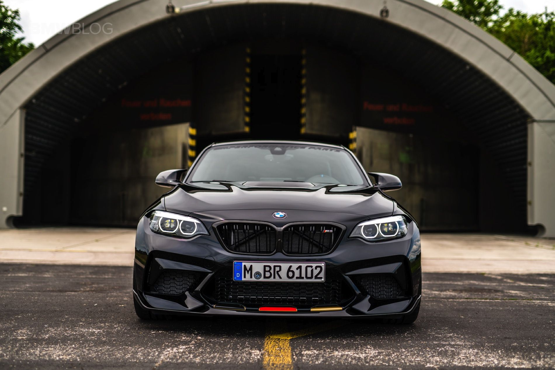 World Cup 2018 Bmw M2 Competition Supports The Germany National