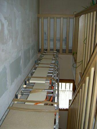 comment tapisser ou peindre une mont e d 39 escaliers home sweet home diy pinterest. Black Bedroom Furniture Sets. Home Design Ideas