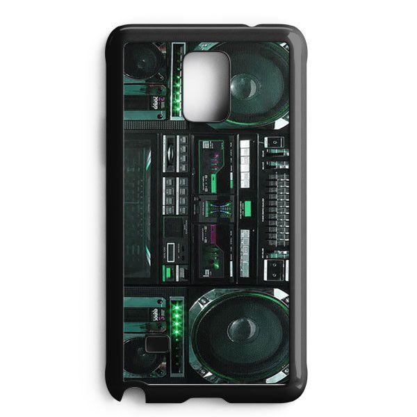 Boombox Ghetto Blaster Funny Samsung Galaxy Note Edge Case