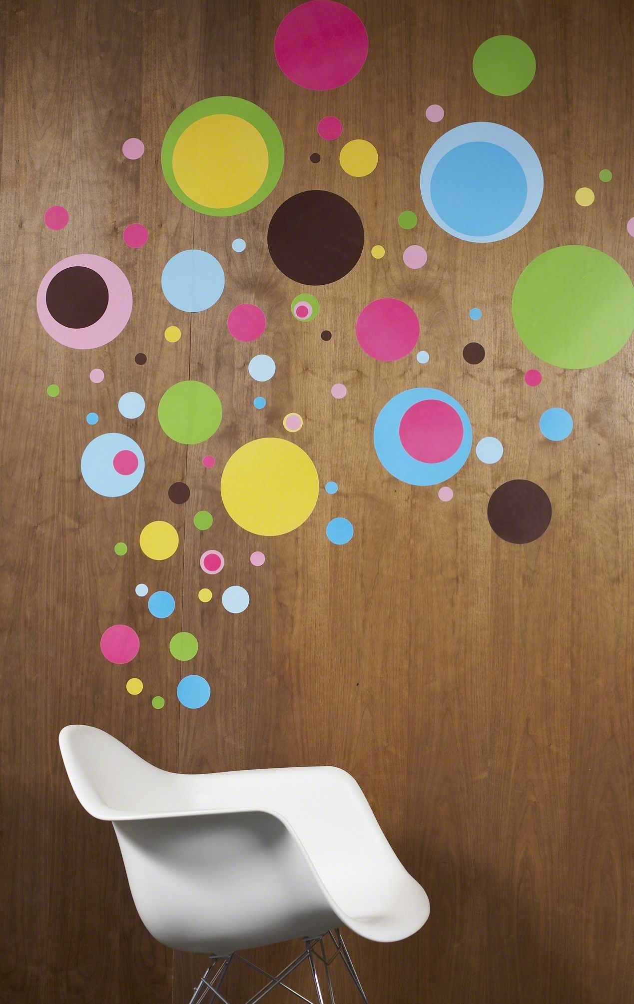 Dottilicious wall decals from WallCandy. Mod art for the ...