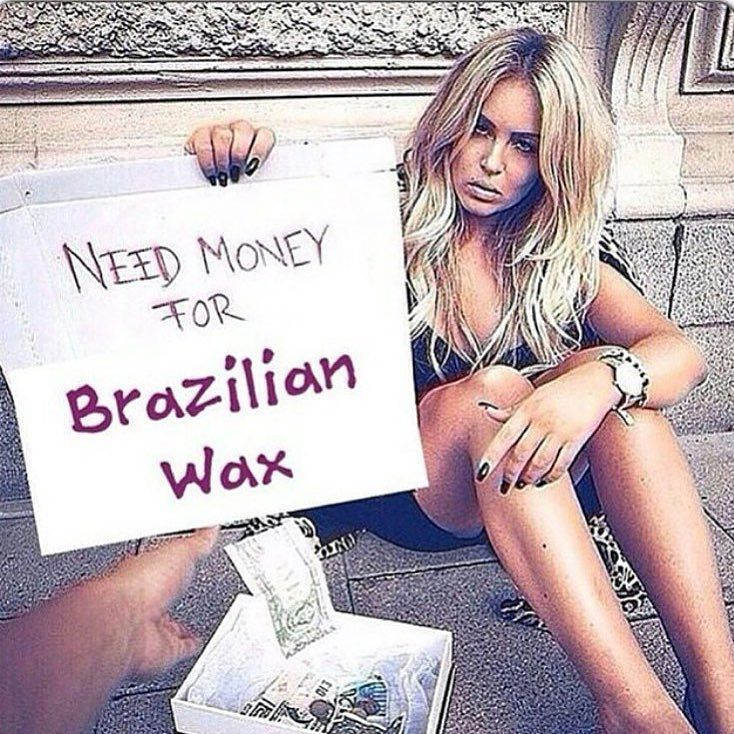 . Haha you only need $35 for a #brazilianwax with Jess @waxingandtanningbyjessellis . BOOK NOW for your full body waxing  Lash and brow tinting & spray tanning. 0403 252 112 xxx. #Torquay #torquayvictoria #janjuc #beauty #beautytherapist #homesalon #waxing #tanning #geelong by waxingandtanningbyjessellis http://ift.tt/1X8VXis