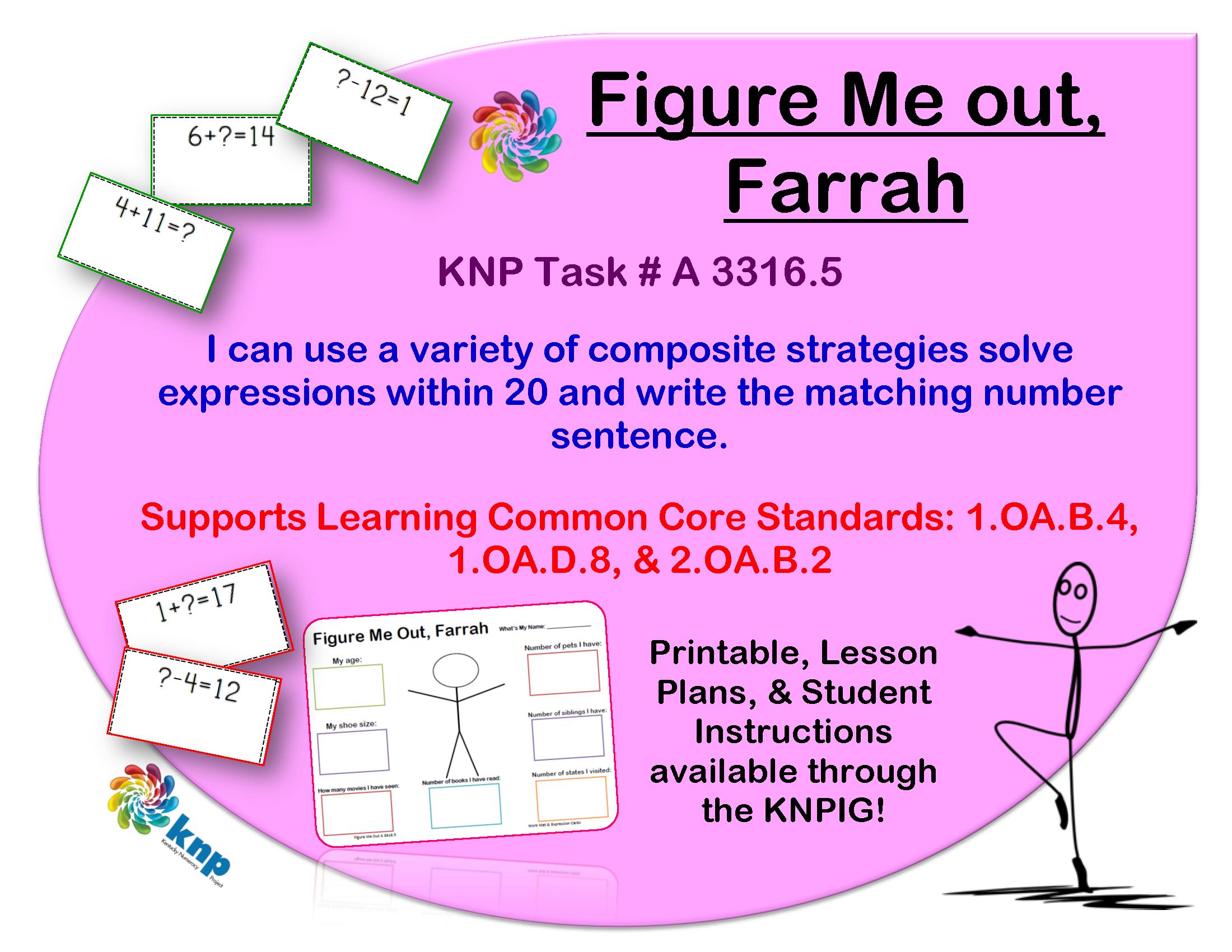 Figure Me Out Farrah