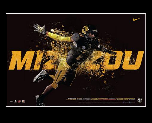 50 Mizzou Football Wallpaper On Wallpapersafari: Ranking The Top 50 College Football Team Schedule Posters