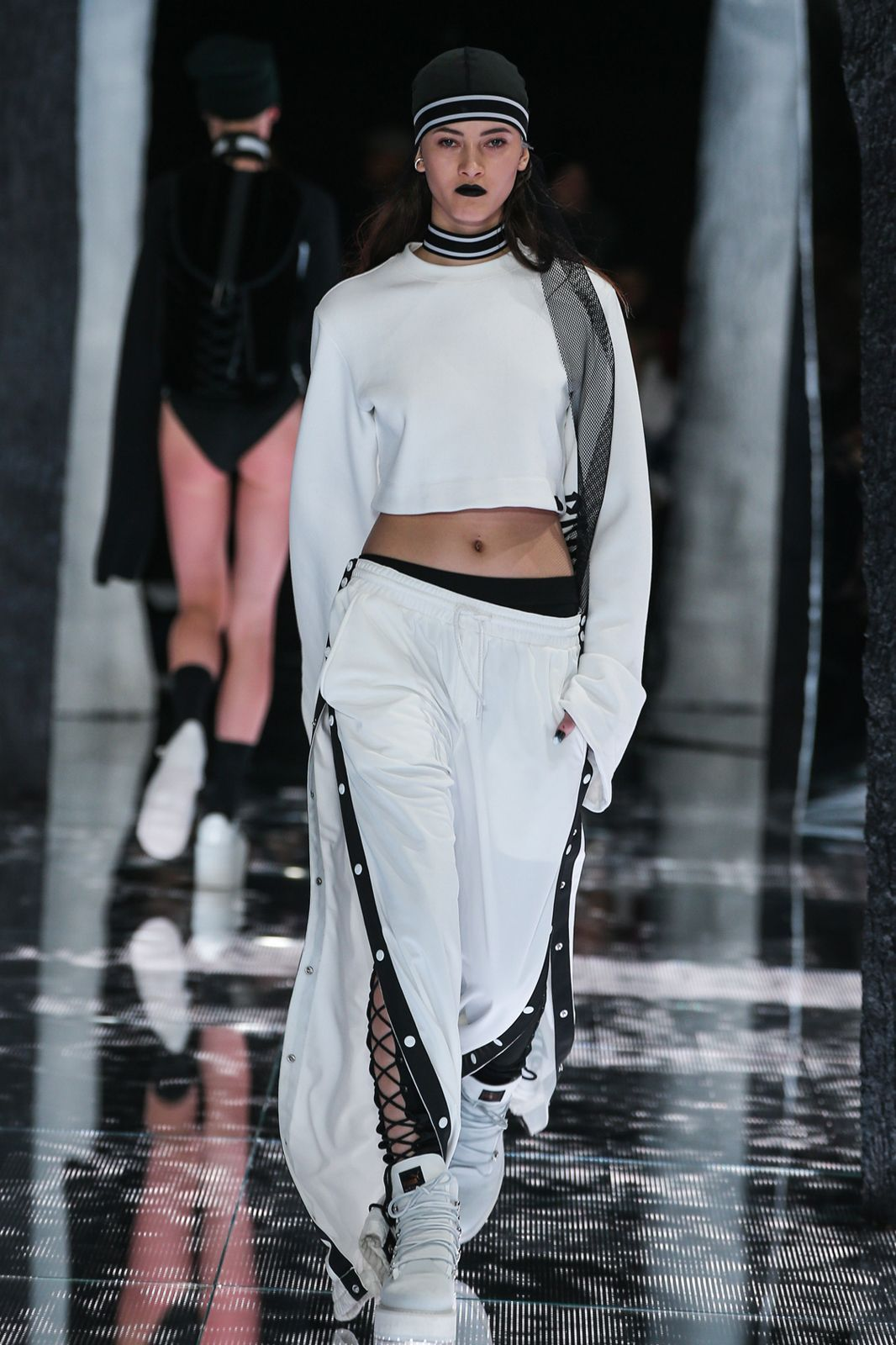 rihanna's puma collection debuts at nyfw  fashion