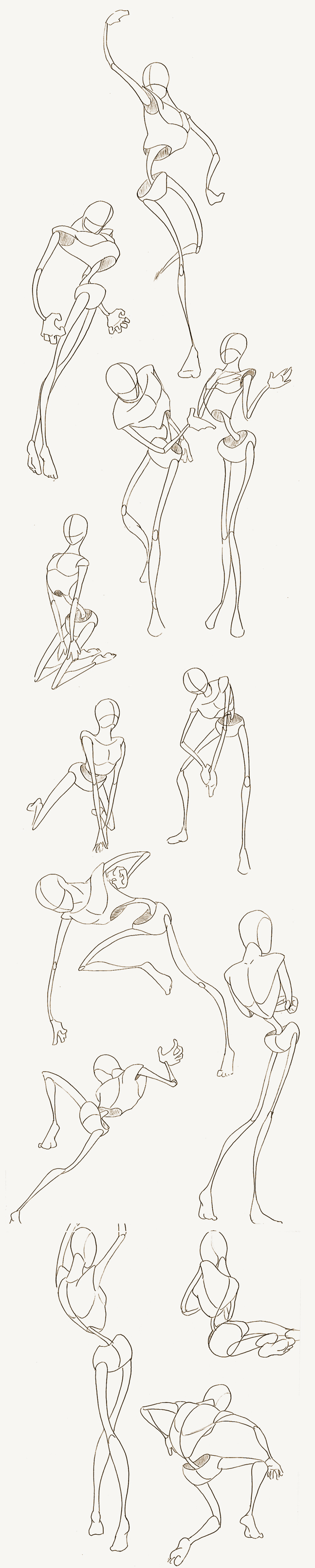 my study in anatomy, breaking it down into shapes... To learn how to ...